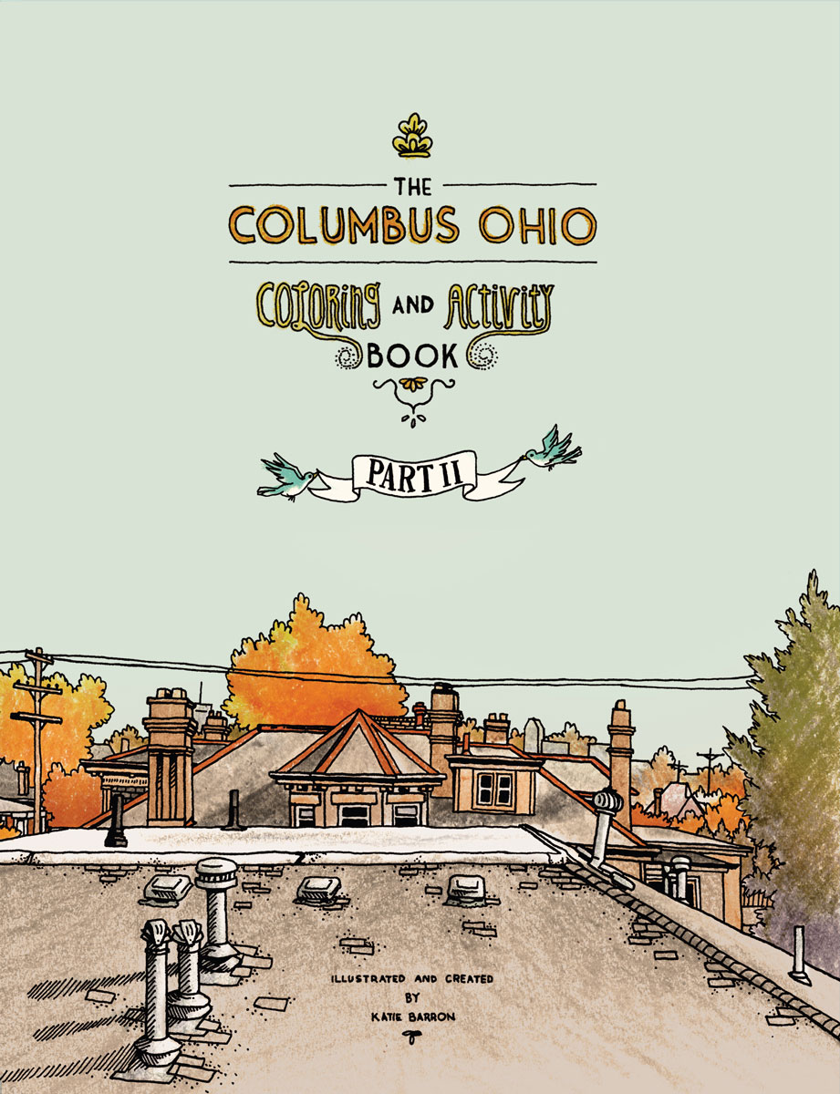 Columbus Coloring and Activity Book Vol.II
