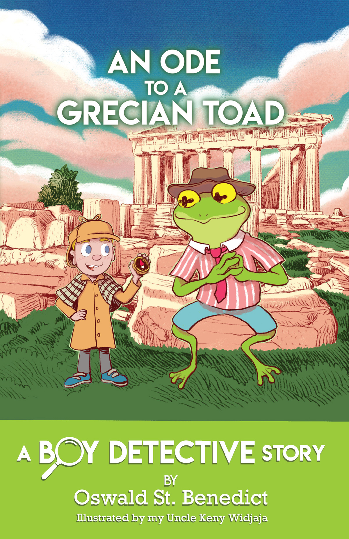 An Ode to a Grecian Toad